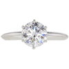 1.74 ct. Round Cut Solitaire Tiffany & Co. Ring, H, VS2 #3