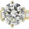 1.01 ct. Round Cut Solitaire Ring, J, SI1 #4