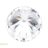0.48 ct. Round Cut Stud Earrings, H, VVS2 #3