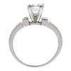 1.3 ct. Princess Cut Solitaire Ring, G, VVS1 #4