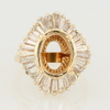 3.10 ct. Round Cut Right Hand Ring #4