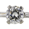 1.34 ct. Round Cut Bridal Set Ring #4