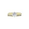 0.63 ct. Round Cut Bridal Set Ring, G, VS1 #3