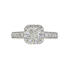 1.02 ct. Cushion Cut Solitaire Ring, I, I1 #3