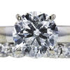 1.95 ct. Round Cut Bridal Set Ring, G-H, I1-I2 #2