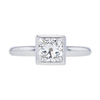 1.24 ct. Princess Cut Solitaire Tiffany & Co. Ring, H-I, VS1 #2