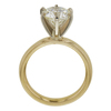 2.47 ct. Round Cut Solitaire Ring, L, SI2 #4