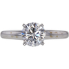 1.48 ct. Round Cut Solitaire Ring, G-H, I1 #1