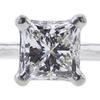 1.08 ct. Princess Cut Bridal Set Ring, G, VVS1 #4