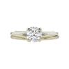 0.69 ct. Round Cut Bridal Set Ring, G-H, VS2 #2
