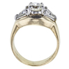 0.98 ct. Round Cut 3 Stone Ring, L-M, SI2 #3