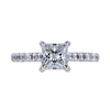 1.05 ct. Princess Cut Solitaire Ring, E, VVS2 #3