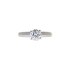 1.01 ct. Round Cut Solitaire Ring, H, SI2 #3