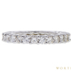 Round Cut Eternity Band Ring, G-H, SI1-SI2 #2