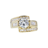 1.30 ct. Round Cut Solitaire Ring, K, I1 #3