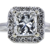 1.70 ct. Round Cut Bridal Set Ring, H, SI1 #4