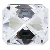 Art Deco GIA 1.01 ct. Radiant Cut Bridal Set Ring, F, VS1 #2