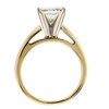 1.80 ct. Princess Cut Solitaire Ring #4