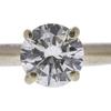 0.82 ct. Round Cut Bridal Set Ring, H, I1 #4