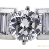 1.02 ct. Round Cut Solitaire Ring, H, I1 #4