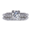 0.65 ct. Round Cut Right Hand Ring, H, VS1 #3