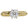 1.01 ct. Round Cut Solitaire Ring, I, I2 #3