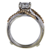 0.98 ct. Princess Cut Bridal Set Ring, G-H, I1 #3