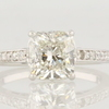 2.02 ct. Cushion Cut Solitaire Ring #1
