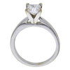 1.02 ct. Princess Cut Solitaire Ring, F, SI1 #2