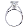 2.12 ct. Princess Cut Solitaire Ring, J, VS2 #2