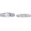 0.70 ct. Round Cut Bridal Set Ring, E-F, SI2 #2