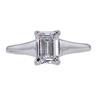 0.90 ct. Emerald Cut Solitaire Ring, E, VVS1 #3