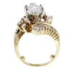 3.00 ct. Marquise Cut Central Cluster Ring #2