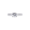 1.07 ct. Round Cut Solitaire Ring, G, VS1 #4