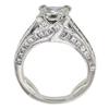 1.85 ct. Princess Cut Ring, H, VS1 #3