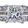 1.23 ct. Princess Cut Solitaire Ring, G, VS2 #4