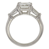 2.01 ct. Asscher Cut Bridal Set Ring, H, VS1 #4