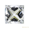 1.12 ct. Princess Cut Solitaire Ring, I, VVS2 #2