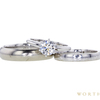 0.9 ct. Round Cut Bridal Set Ring, D, VVS2 #3
