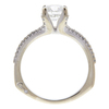 1.21 ct. Round Cut Bridal Set Ring, G, SI2 #4
