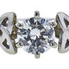 0.68 ct. Round Cut Solitaire Ring, H, VS1 #4