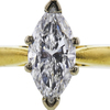 1.16 ct. Marquise Cut Solitaire Ring, F, SI2 #4