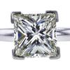 2.15 ct. Princess Cut Solitaire Ring, K, VS1 #4