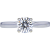 1.00 ct. Round Cut Solitaire Ring, H, SI1 #3