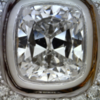 1.01 ct. Cushion Cut Halo Ring #3