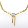 1.22 ct. Pear Cut Pendant Necklace #3