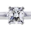 1.71 ct. Cushion Cut Bridal Set Ring, H, SI1 #1