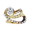 1.15 ct. Round Cut Right Hand Ring, J, SI1 #3