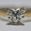 .91 ct. Heart Cut Solitaire Ring #1