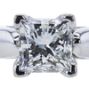 1.01 ct. Princess Cut Solitaire Ring, J, SI1 #4